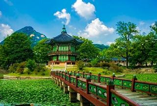 景福宮の香遠亭(韓国)