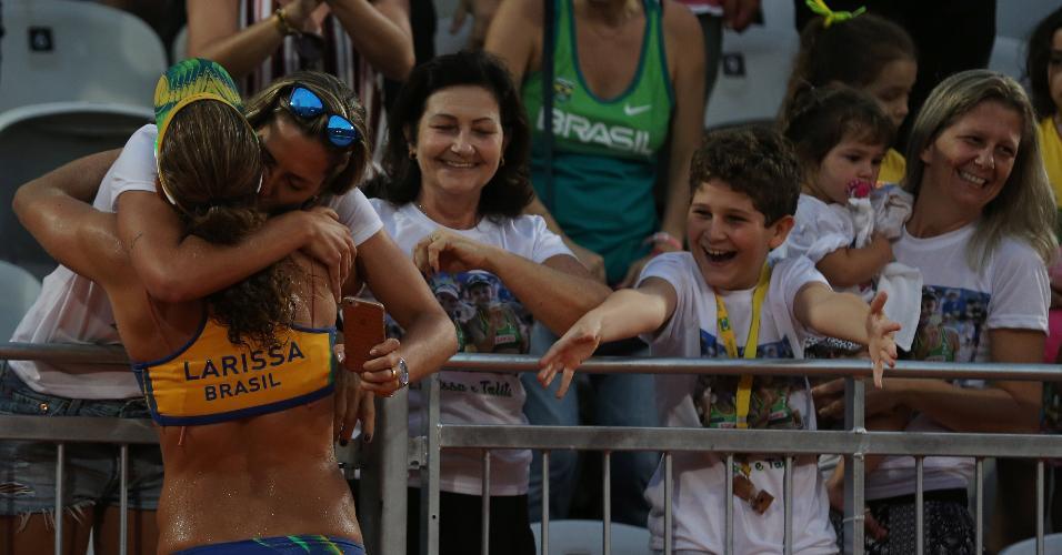 'Mundo está se libertando', diz Lili Maestrini, mulher de Larissa, sobre diversidade na Rio-2016