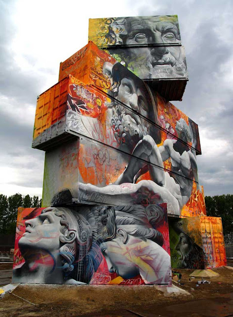 PichiAvo Tuenti Urban Art Project