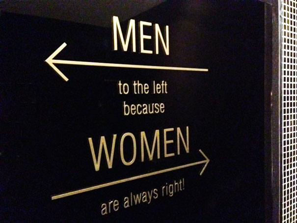 20+ Of The Most Creative Bathroom Signs Ever - Love This Text At The Toilet Of Brouwersdam