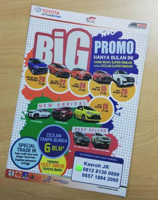 Promo Toyota Rawamangun Jakarta Timur