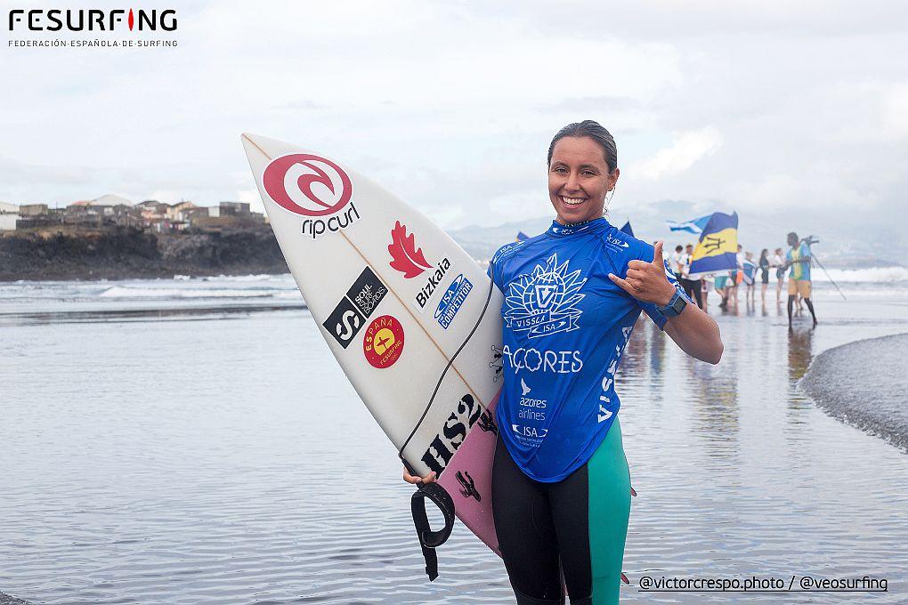 Surf Femenino RONDA 1 ISA WSJ