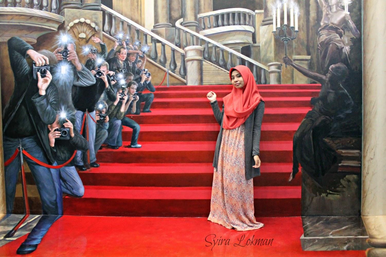 Syira Lokman Dunia kreatif di Muzium 3D Art of Paradise