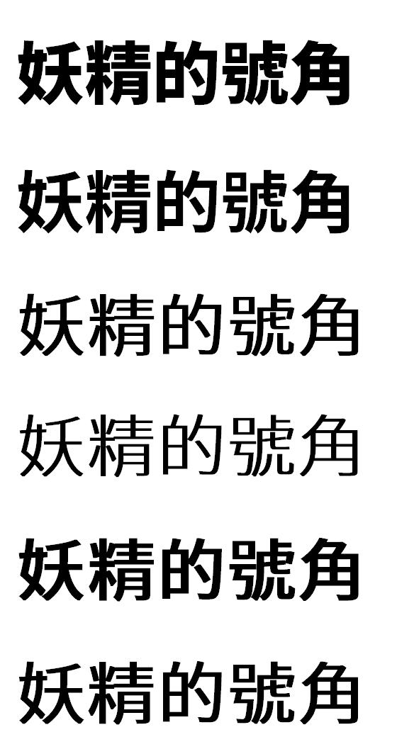 4 - [免費中文字型] Google Noto 思源黑體,平滑漂亮,支援96種語系!
