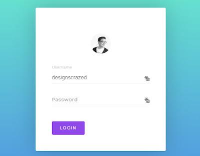Login Form Templates HTML CSS3 - دروس4يو Dros4U