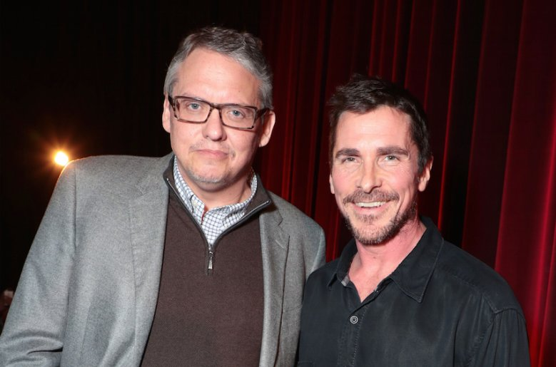 Christian Bale with Adam McKay