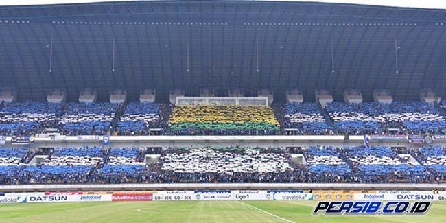 Persib vs Semen Padang: Bobotoh Siap Birukan Stadion plus Koreografi