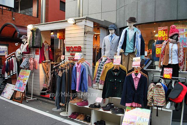 Street Vendors at Harajuku