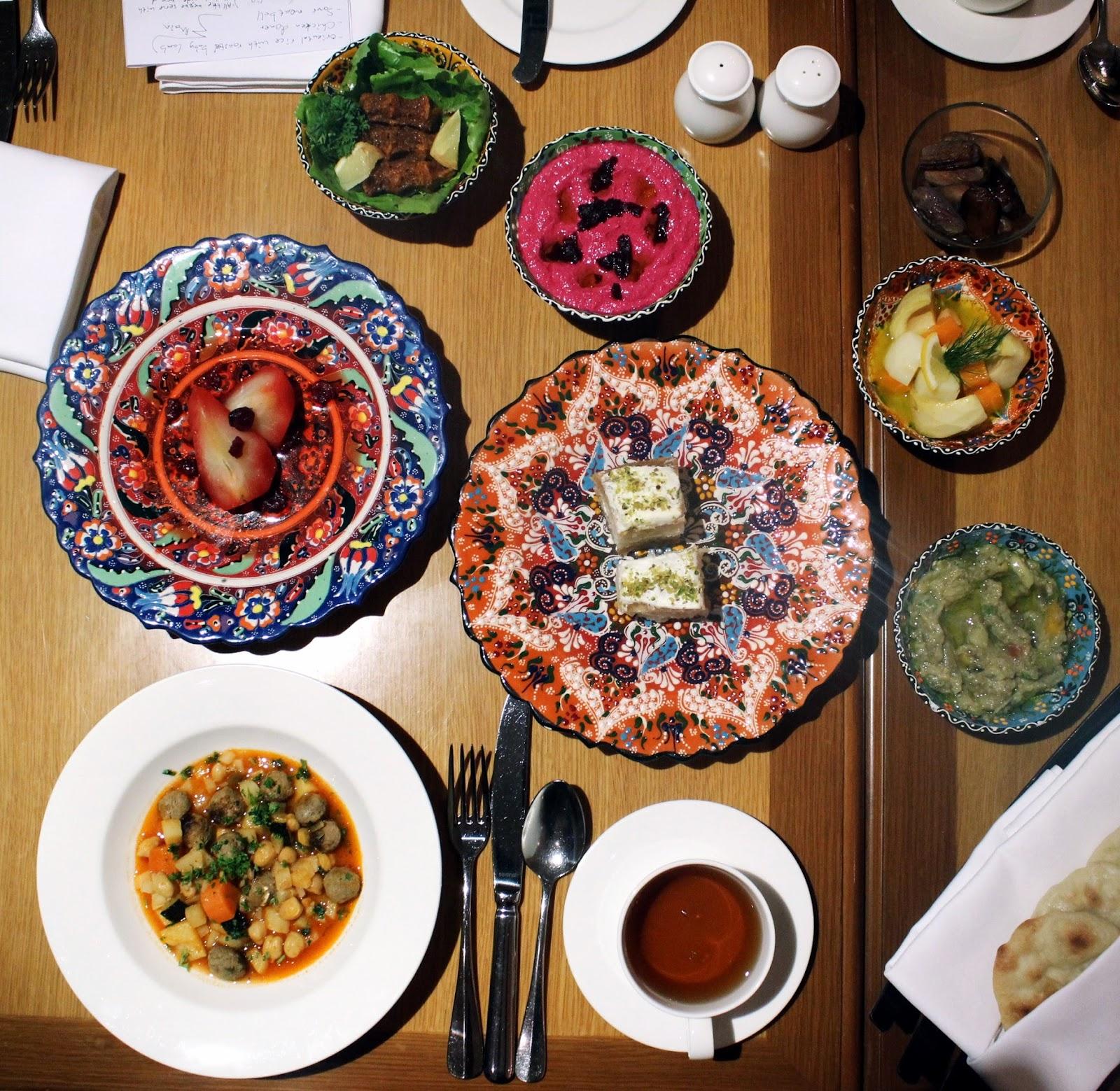 Restaurant With Ramadan Menu