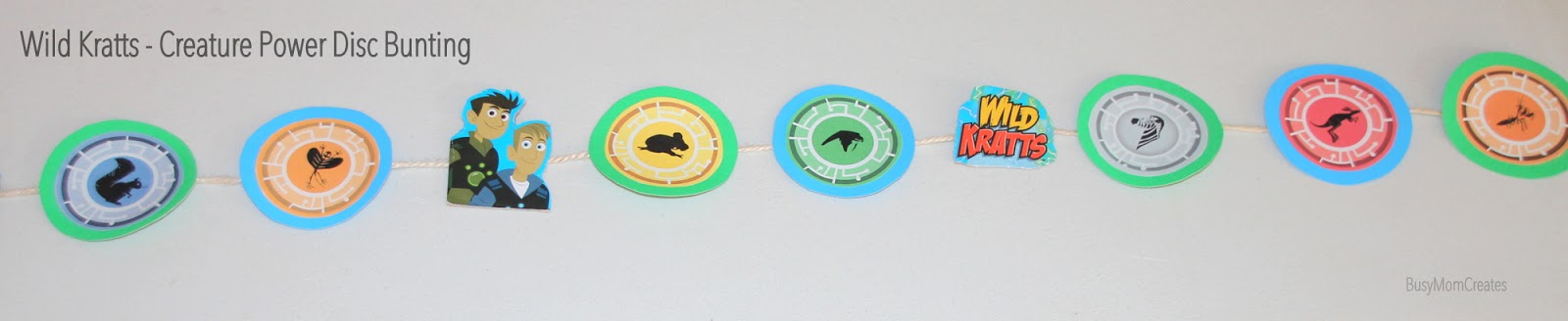 picture about Wild Kratts Creature Power Discs Printable named Wild Kratts - Creature Electricity themed birthday bash