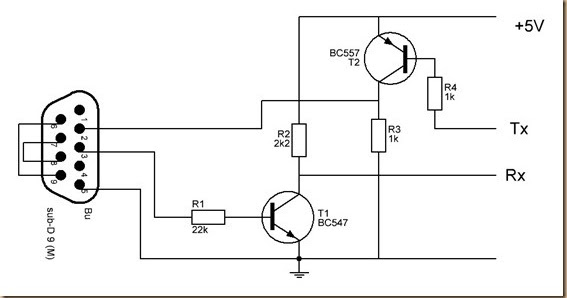 Forum Diagram: Converter RS232 to Arduino Wiring diagram