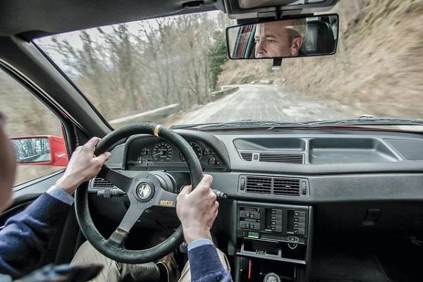 Alfa Romeo 155 GTA Stradale Interior