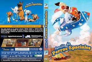 CARATULAFAMILIA DE PERROS ESPACIALES - SPACE DOGS FAMILY - 2018