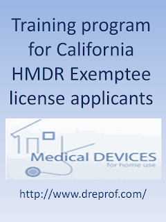 California HMDR Exemptee Training Certification Course (accepted by the California Department of Public Health - Food and Drug Branch)