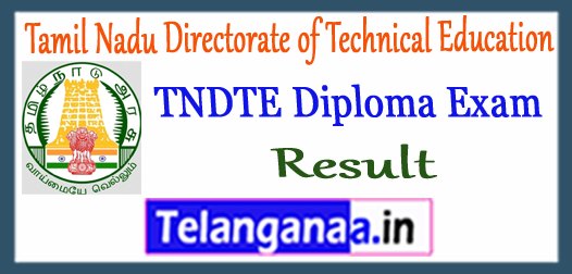 TNDTE Diploma Tamil Nadu Directorate of Technical Education 1st 3rd 5th Semester Result 2017