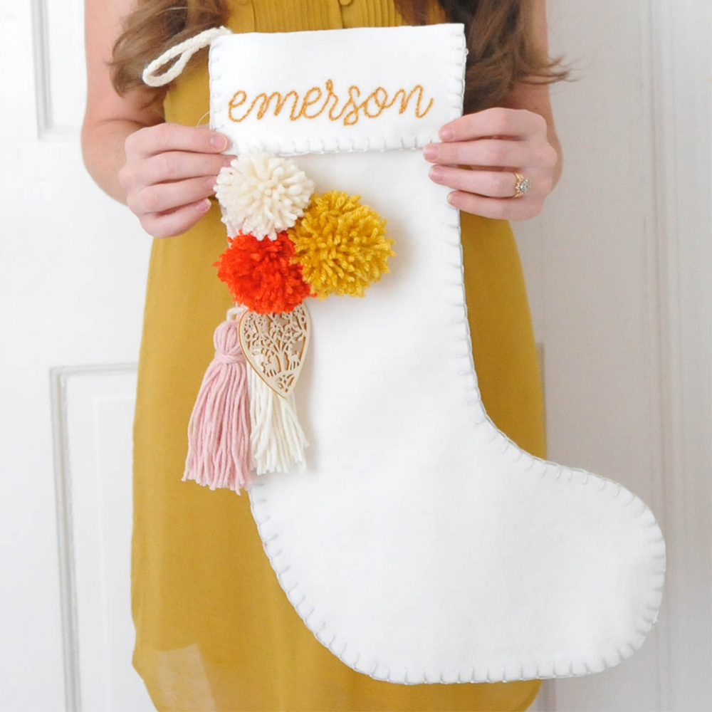 love this round up for diy christmas stocking ideas and creative