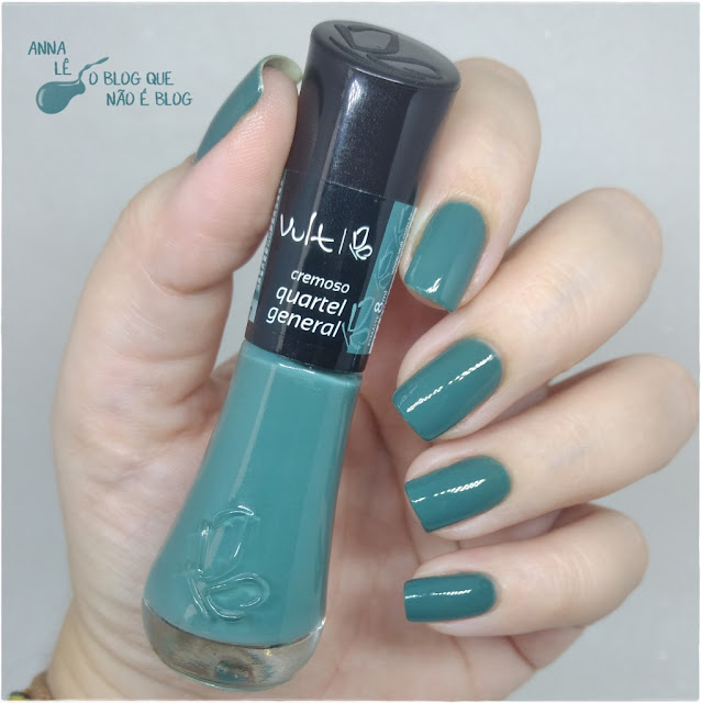 Quartel General Vult Esmalte Nailpolish Verde Militar