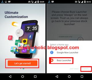 Cara Menggunakan Tema NARUTO di Semua HP Android langkah awal