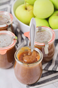 This instant pot apple butter tastes fantastic and is so quick and easy to make!