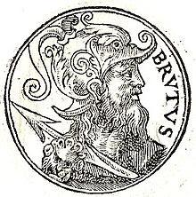 Brutus de Troya, fundador y primer rey de Britania