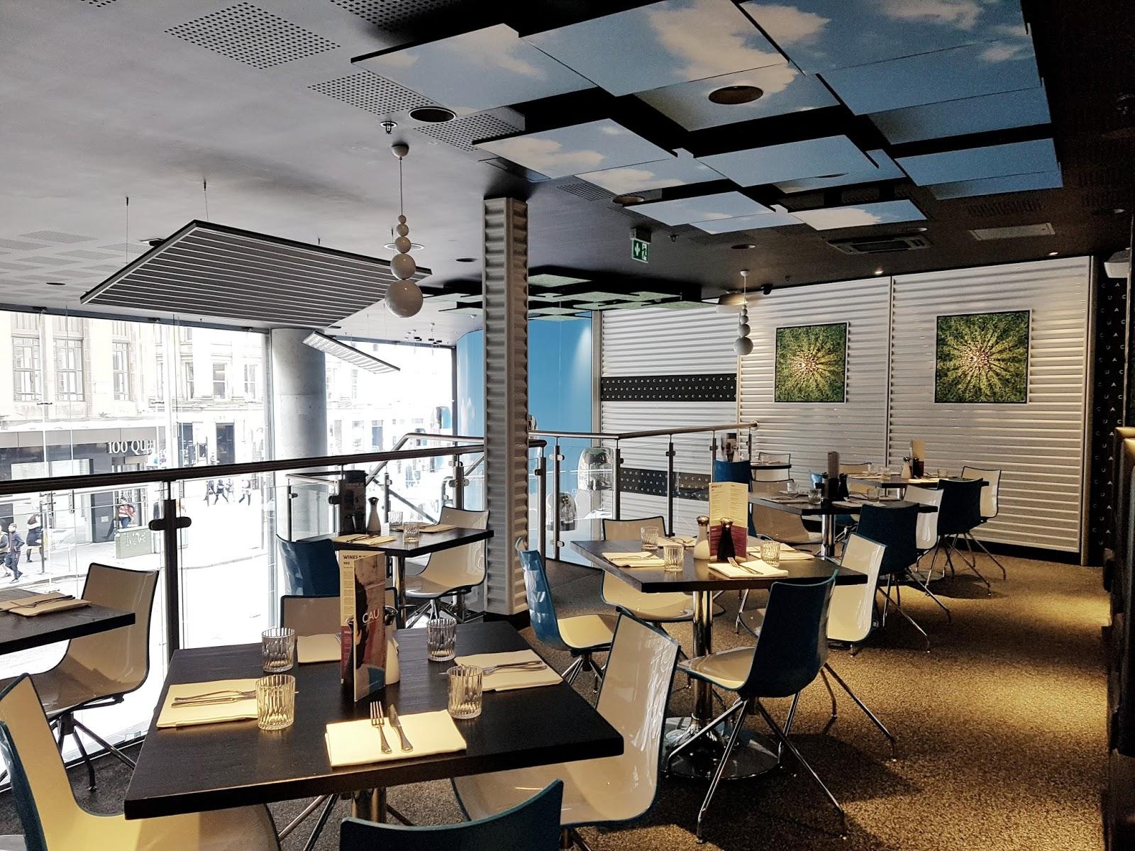 CAU restaurant in glasgow