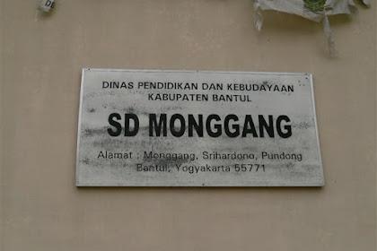 Profil Perpustakaan Sekolah SD NEGERI MONGGANG, Desa PENDOWOHARJO, Bantul Yogyakarta