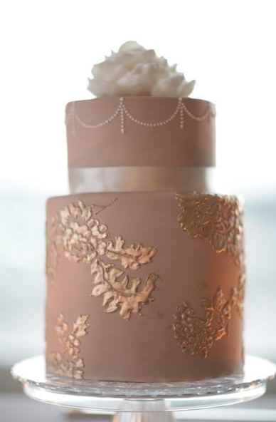 dusty pink and rose gold wedding cake dusty amp champagne bliss green villa barn amp gardens 13794