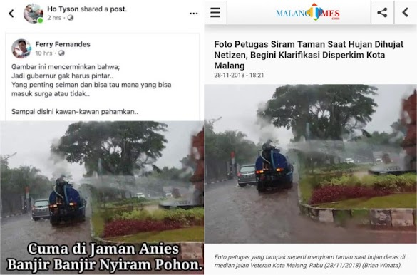 Kejadian di Kota Malang, Kok Gubernur Anies Yang Diserang?