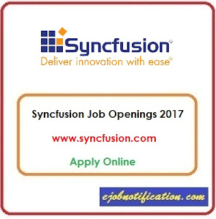 Syncfusion Hiring Freshers Testing Engineer Jobs in Chennai Apply Online