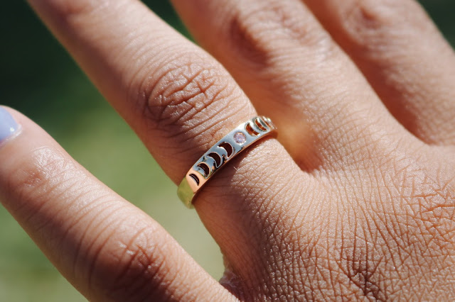 Stargaze Jewelry Hello Moon ring