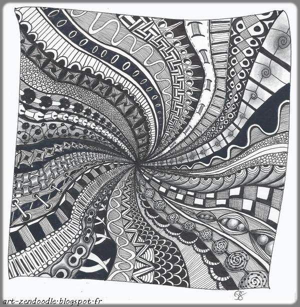Zendooddle, zen doodle, zentangle