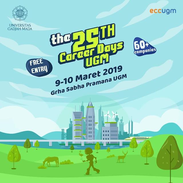 Job Fair UGM Yogyakarta 2019 GRATIS