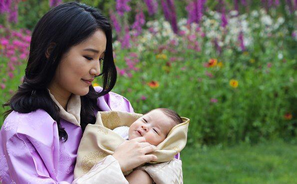 Happy birthday to you, Queen Jetsun Pema, The Gyaltsuen. Crown Prince Jigme Namgyel