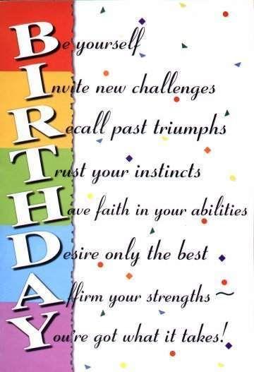 best surprise birthday birthday poems