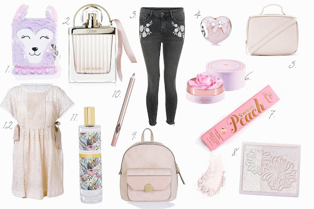 Blog pastel spring beauty wishlist