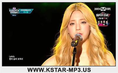 [Performance] JUNIEL  - Sorry @ M! Countdown 2015.08.27