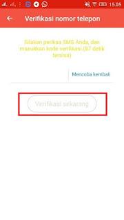 cara verifikasi nomor handphone dari cashsaku