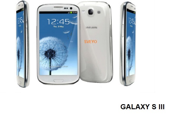 Samsung Galaxy S III camera and video capture