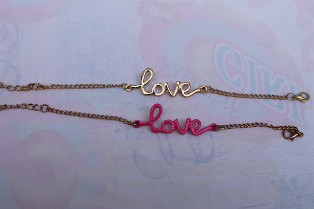 pulsera love aliexpress