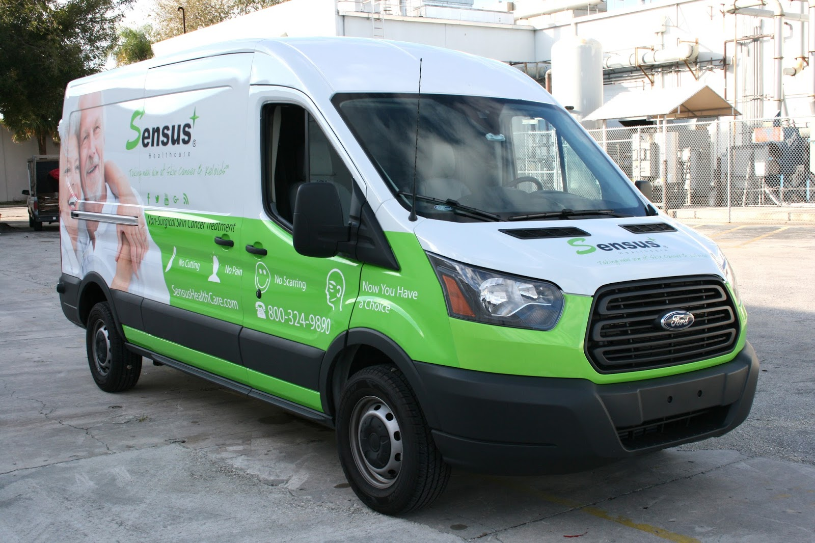 Http www carwrapsolutions com ford transit connect van wrap html