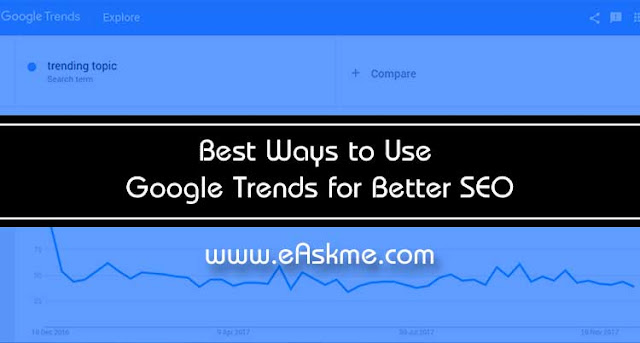 10 Ways to Use Google Trends for Better SEO: eAskme