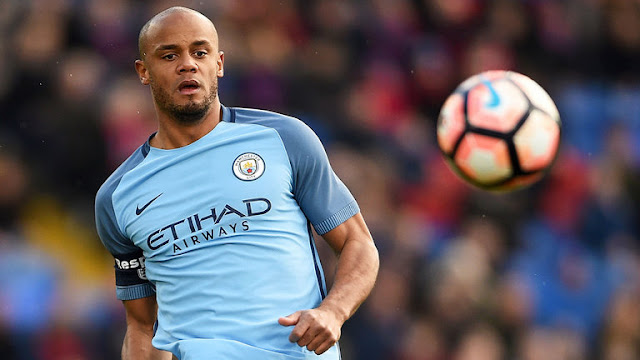 Vicent Kompany Manchester City