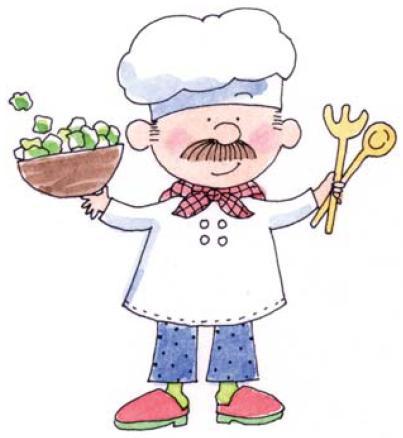 Cocineros en dibujos para imprimir imagenes y dibujos for Herramientas de un cocinero