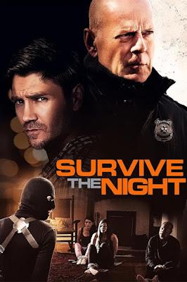 Survive The Night 2020 Eng 720p WEB HDRip 700Mb ESub x264