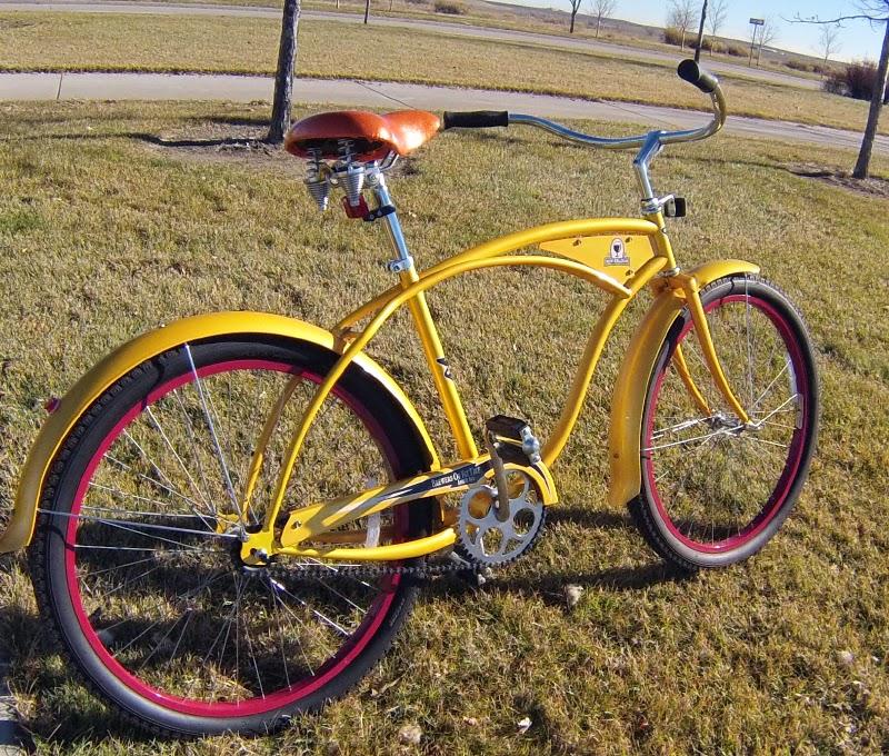 The Retro Dad Dad S Retro Fat Tire Bike From New