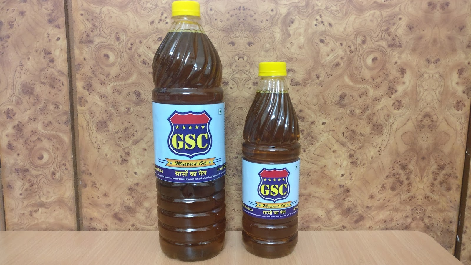 GSC BRAND MUSTARD OIL IS BEST COOKING OIL IN INDIA AND WORLD