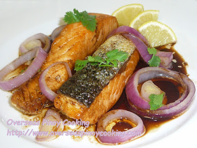 Salmon Bistek