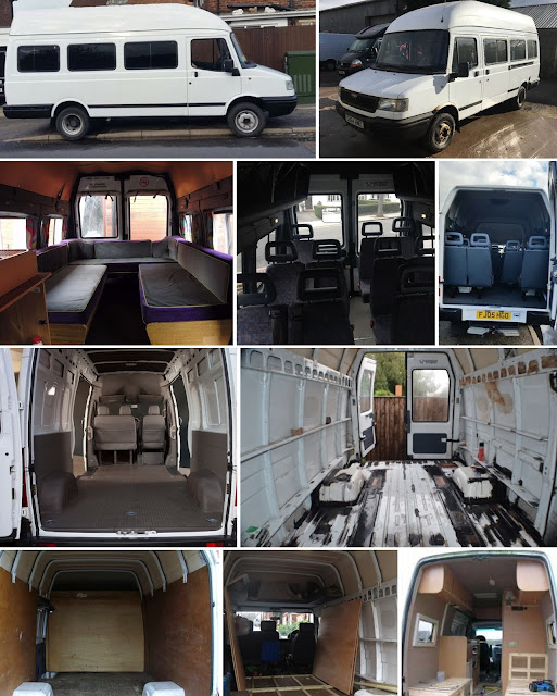 LDV convoy, minibus conversion, camper conversion