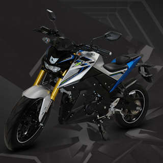 Motor Yamaha Xebre silver terbaru 2016
