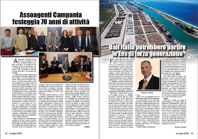 MAGGIO 2018 PAG 22 - Assoagenti Campania festeggia 70 anni di attività